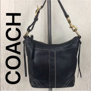 ⭐️ COACH LEATHER CROSSBODY BAG 💯AUTHENTIC